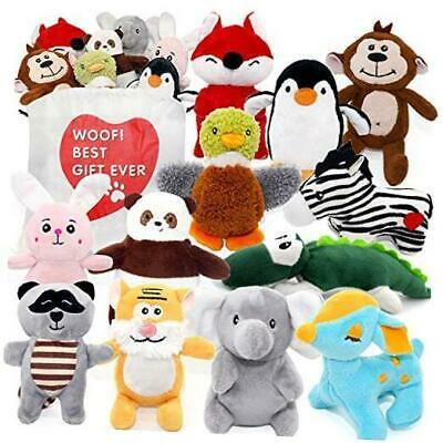 Dog Squeaky Toys for Small Dogs,Stuffed Animal Puppy Toys,Cute Puppy Chew Toys