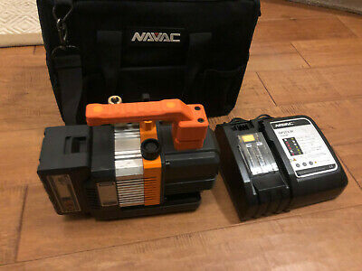 Navac NP2DLM Cordless 18V 2 CFM Vacuum Pump Kit with Battery, charger and Bag!