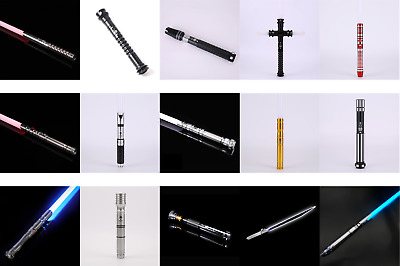 Star Wars Lightsabers - High Quality Aluminium Hilt, blade 12 changing colour
