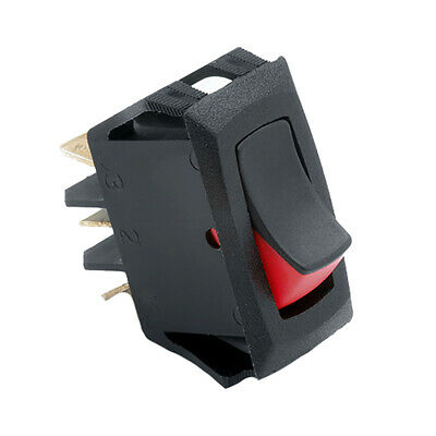 Cole Hersee 54007-BP Narrow Body Curved Rocker Switch Spst On-off 3 Blade