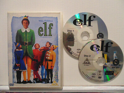Elf                      DOUBLE DVD                        FREE.DELIVERY+UPGRADE