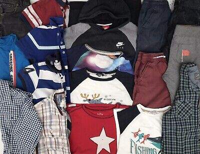 boys clothes bundle 8-9 yrs Fat face Next M&S Nike Ted Baker Hatley Play Clothes