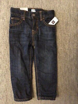 Gap Jeans With Red Fleece Lining 2 Years