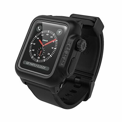 Waterproof case for Apple Watch 42mm Series 2 & 3 With Premium Soft Silicone ...