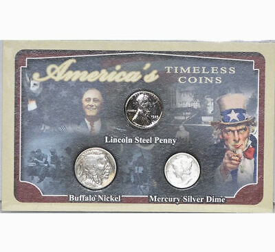 First Commemorative Mint: America's Timeless Coins Collection, 3 Coin Set