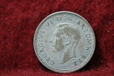 Great Britain,1939 6 Pence, KM852, silver, 0.0455 NR, #2,                    3-6