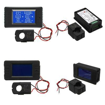 Pzem-022 Open And Close Ct 100A Ac Digital Display Power Monitor Meter Voltmeter