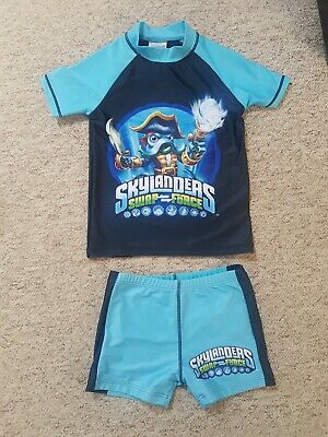 Boys Skylanders Two Piece UPF 50+. From Next Age 7 - 8 Years