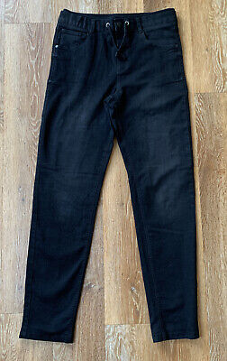 Boys Black Denim Trousers