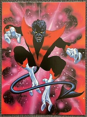 X-Men - Marvel Comics - Nightcrawler - 1995 Vintage Postcard