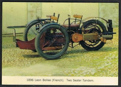 Postcard. Transport. Leo Bollee Car 1896