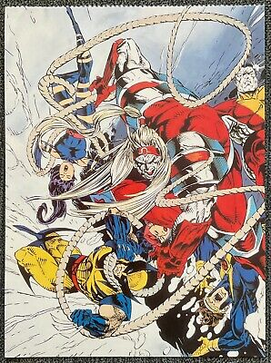 X-Men - Marvel Comics - Omega Red - 1995 Vintage Postcard
