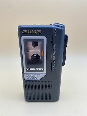 🔥Aiwa TP-M130 Micro Cassette Recorder • Tested Working