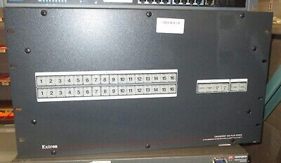 EXTRON	CROSSPOINT 450 PLUS 816 HVA 8x16 Ultra-Wideband Matrix Switcher-Unit Only