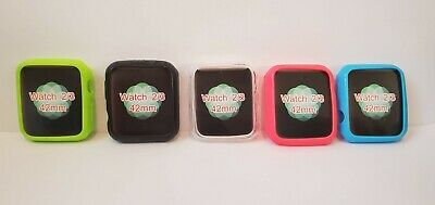 Set of 5 Apple IWatch 2/3 Bumper Covers 42MM 5 Different Colors!