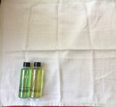 Chateau Marmont Hollywood Toiletries & Napkin Set