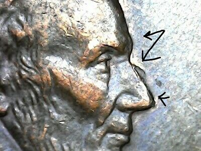 1997 Lincoln penny error coins p. 161 LOOK AT The ERROR
