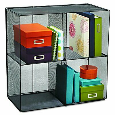 Safco Products 2172BL Onyx Mesh Cubes for use with Onyx Mesh Cube Bins 2173BL...
