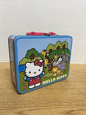 Sanrio Hello Kitty Lunchbox Circus Theme and 100 Piece Puzzle B6