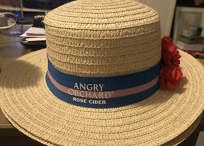 Angry Orchard Rose Cider Kentucky Derby Hat