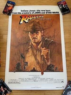 Raiders of the Lost Ark Classic Movie Poster A0-A1-A2-A3-A4-A5-A6-MAXI C106