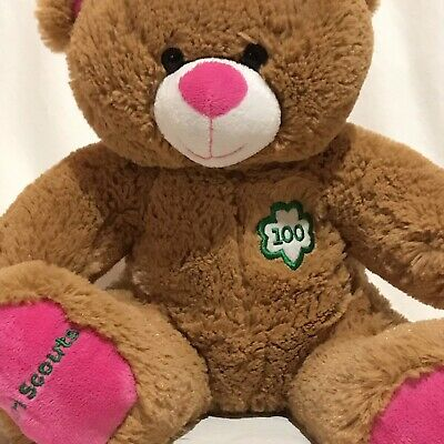 New Build A Bear Girl Scouts 100 Anniversary Patch New Stuffed