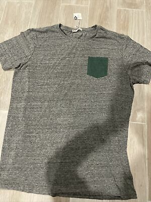Men/'s XL rayon SILENZ NEW YORK black crew tee shirt NEW WITH TAGS