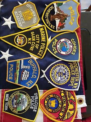 3rd Issue Shoulder Patch New York Rotterdam Police