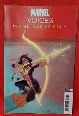 Marvels Voices Indigenous Voices 1C Mack Variant VF Stock Image