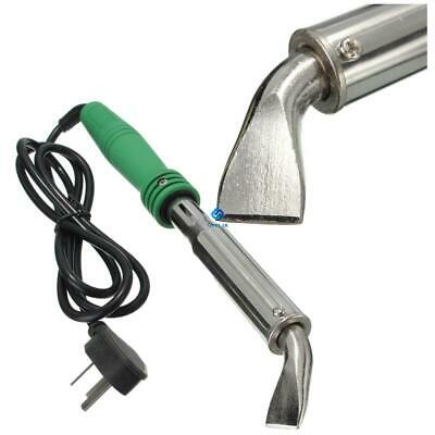 220V Heavy Duty High Power Electric Soldering Iron Chisel Tip Wood Handle JT FG