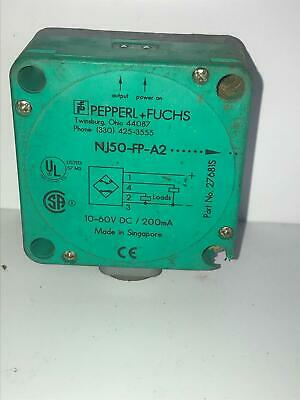 Details about  /1pc used Pepperl+Fuchs Proximity Switch NRN40-U1-E2-V1   #t8
