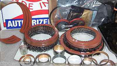 2004R Super Master Rebuild Kit ALTO Red Eagle Kolene Wide Band Bushing Kit 200r4