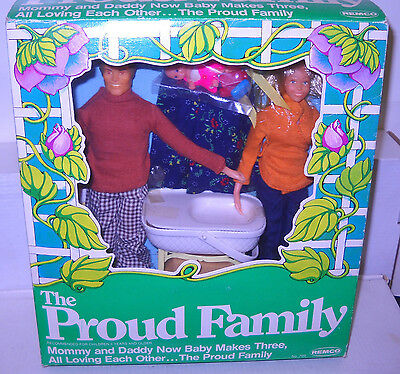 #7997 NRFB Vintage Remco The Proud Family Fashion Doll Set