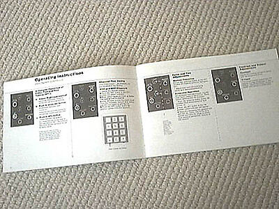 Philips Modular-4 television TV, owners manual