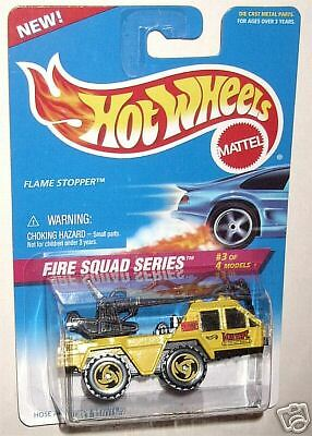 Hot Wheels #426 Fire Squad Series Flame Stopper  yrw