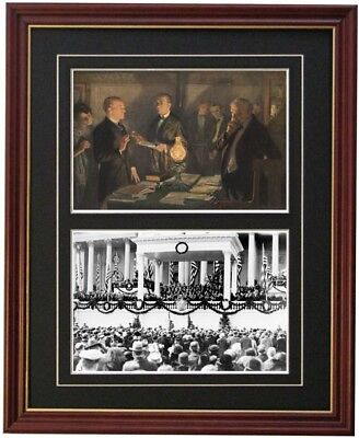CALVIN COOLIDGE Presidential Inauguration photograph