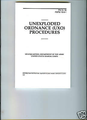 Unexploded Ordnance (UXO) Procedures