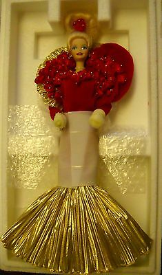 #4885 NIB MATTEL CORPORATION 50th Golden Anniversary Barbie Porcelain Doll