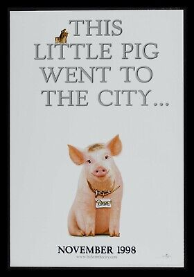 Babe * Pig In The City 1Sh Orig Movie Poster Advance