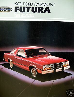 1982 Ford Fairmont Futura new vehicle brochure