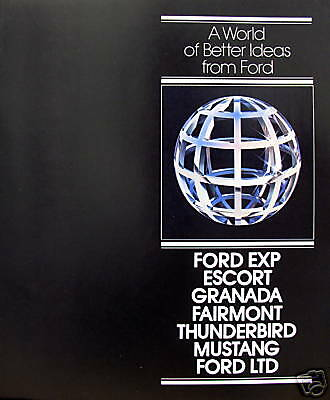 1981 Ford Car Full-Line sales brochure - 2nd printing