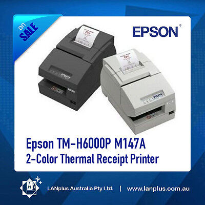Epson TM-H6000P M147A 2-Color Thermal Receipt Printer with Parallel Port No PS