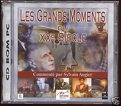 LES GRANDS MOMENTS DU  XXeme SIECLE