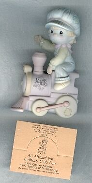 Precious Moments Figurine B0107 Charter All Aboard Fun