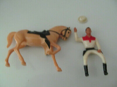 1960's Roy Rogers Hartland Mini Statue and Horse
