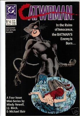 Catwoman #1 Mini-series comic book 1989