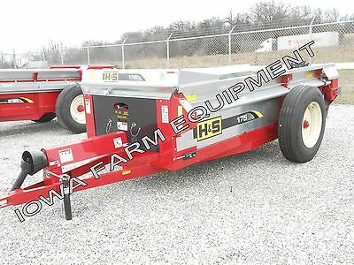 H&S 175 Bu PTO Driven Manure Spreader: ABSOLUTELY BEST BRAND & BUY!!!