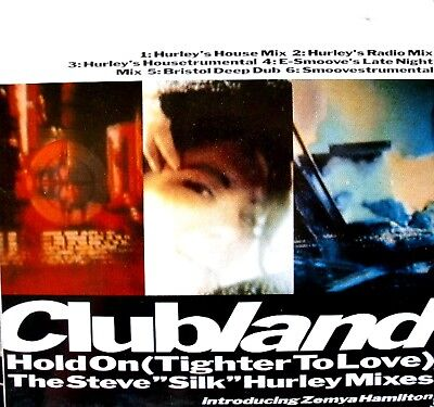 """12"""" - Clubland - Hold On (Tighter To Love) MINT  LISTEN"""