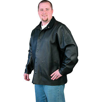 NEW Black Stallion DuraLite Leather Welding Jacket MED