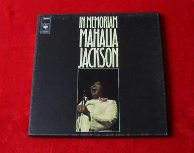 Mahalia Jackson 5 LP Box  In Memoriam   Top Zustand!